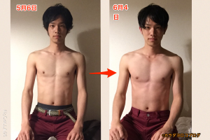 5日間の断食、そして1ヶ月間死ぬ気で筋トレした結果…(写真あり)