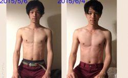 5日間のファスティング(断食)、そして1ヶ月間死ぬ気で筋トレした結果…(写真あり)