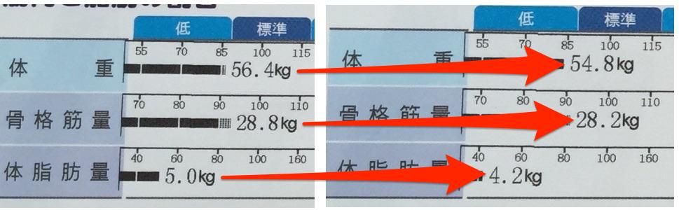 三日間ファスティングの結果を大公開!体重、筋肉、脂肪量はいくら変化したか
