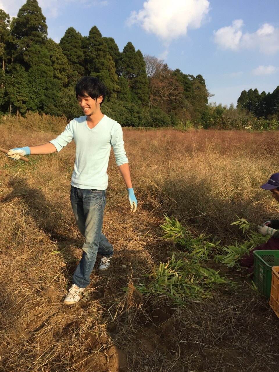 千葉で有機農法、無農薬農法を営む農家さんに農業ボランティアに行ってきた!