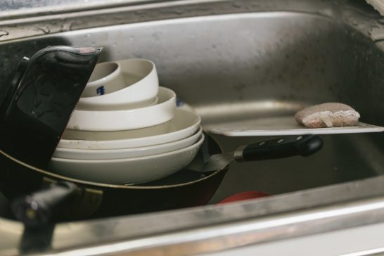 流し場を見てうんざりするのをやめよう!食べた後の洗い物を楽にする工夫