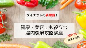 『圓尾式和ごはん講座 〜腸内環境編〜』 開催します。