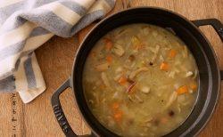 [ほっとする和ごはんレシピ] ファスティングの復食にも最適 さいの目野菜スープ