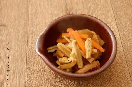 [ほっとする和ごはんレシピ]不足しがちなミネラルがまるっととれる「れんこん入り切り干し大根の煮物」