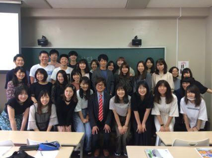 文教大学の栄養学生に講演に行ってきました!